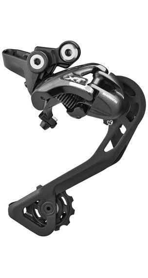 Shimano Deore XT Trekking RD-T8000 - Cambios - 10-fach gris/negro